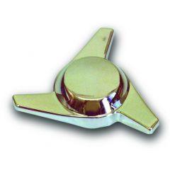 Chrome Plastic Swept Wing Spinner, Left
