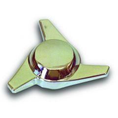 Chrome Plastic Swept Wing Spinner, Right