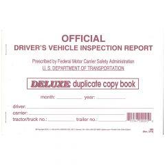 Driver's Vehicle Inspection Report (Carbon Copy)