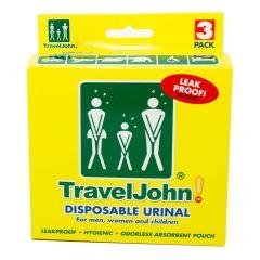 TravelJohn Disposable Urinal (3PK)