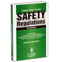 Federal Motor Carrier's Safety Regulation Handbook