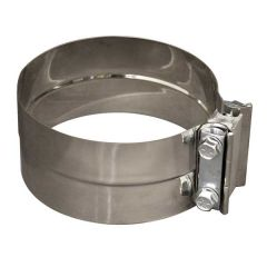 """3""""D Stainless Steel Lap Joint Clamp"""