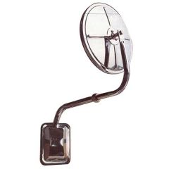 """Pod Mount 8"""" Convex Curved Arm Mirror Assembly"""