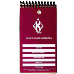 Driver's Load Notebook