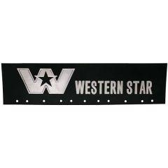 """24"""" x 6"""" Western Star Quarter Fender Mud Flap (EA)"""