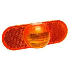 Amber Torsion Mount 3 Oval Side Turn Marker Light