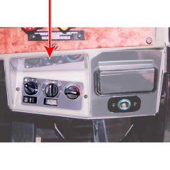 Peterbilt 379 AC/Heater Control Upper Trim