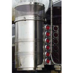 Peterbilt 6 Light Rear Air Cleaner Light Bars