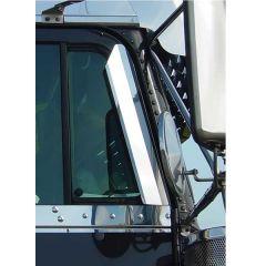 Freightliner Stainless Steel Window Air Deflectors