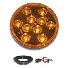 "4"" Mega 10 AM/AM LED Light with Grommet & Pigtail"