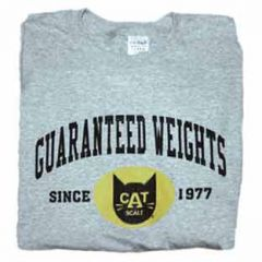 CAT Scale Guaranteed Weights Long Sleeve T-shirt
