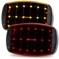 Emergency Strobe LED Light Magnetic Mount