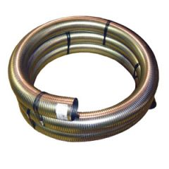"6"" x 120"" Stainless Steel Flexible Hose"