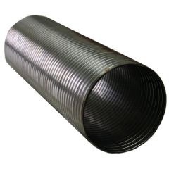 "4"" x 12"" Stainless Steel Flexible Hose"