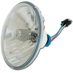"8-1/2"" Round Complex Reflector Headlamp 9007 Bulb"