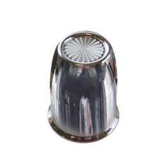 "1 1/4"" or 33mm Chrome Plastic Vortex Nut Cover"