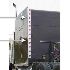 Peterbilt Unibilt Sleeper Rear Vertical Inc. Bars