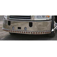 """Bumper Bar with 2"""" Light Cutouts for Mack Vision"""