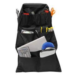 Black 14-Pocket Seat-Back Organizer