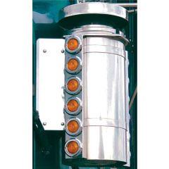"""Freightliner 11"""" Nelson Front AC Light Bars"""