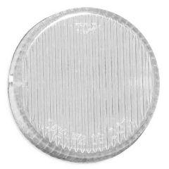 """2.5"""" White LED Marker Light Clear Lens"""