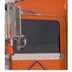 Peterbilt Under Window Trim Cab Mount Mirror 06+