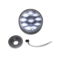 """2"""" LED Marker Lights with Grommet White/Clear"""