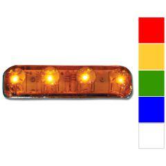 """2-1/4"""" 4 LED Rectangular Marker Light"""