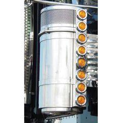 "Freightliner 13"" Donaldson Front AC LED Light Bars"