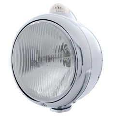 Stainless Guide H4 Headlight AMB/CLR Turn Signal