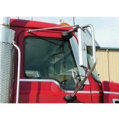 Window Air Deflector for Mack