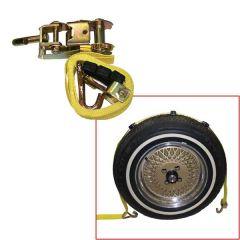 10' Adjustable Wheel Lashing Auto Tie Down