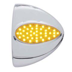Peterbilt Headlight LED Turn Signal Cover