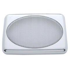 "Peterbilt 7"" x 4-7/8"" Chrome Speaker Cover PR"