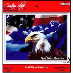 God Bless America Vinyl Decal