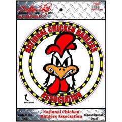 National Chicken Haulers Vinyl Decal