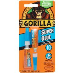 Gorilla Super Glue (2PK)