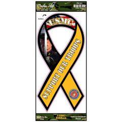 USMC Ribbon Decal