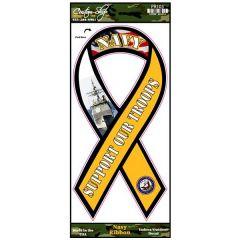 Navy Ribbon Decal
