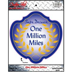 Million Miles Decal