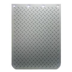 """24""""W x 30""""L Diamond Plate Print Mud Flap (EA)"""