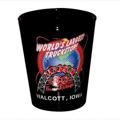 World's Largest Truckstop Iowa 80 Shot Glass