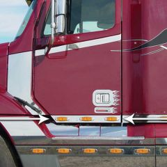 Freightliner Century, Columbia Cab Panels with LED