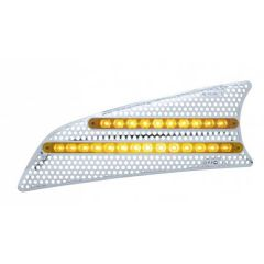 Kenworth T660 LED Air Intake Screens