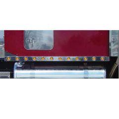 "LED Sleeper Panels for Peterbilt 70"" Unibilt Ultra Sleeper with Extension"
