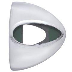 Headlight Turn Signal Cover w/ Teardrop Cutout