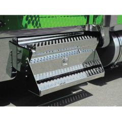 "Kenworth Battery & Tool Box Cover Kit 34"" Steps"