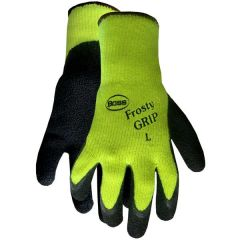 Frosty Grip High-Visibility Gloves (Large)