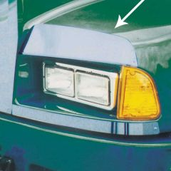 Kenworth T600 Above Headlight Fender Guards