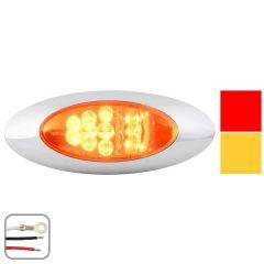 "6-11/16"" 15 LED Y2K Dual Function Light"